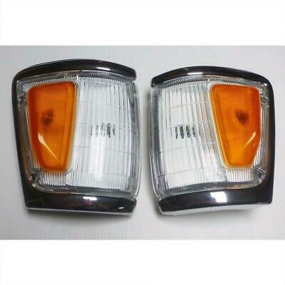 FIT 89 93 TOYOTA HILUX PICKUP MK3 2,4WD CORNER LIGHT LAMP GRAY LEFT RIGHT