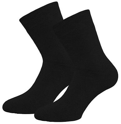 6 Paar Damen Thermo Socken schwarz Vollfrottee Thermosocken ohne Gummi