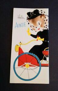 Vintage-Norcross-Greeting-Card-Happy-Birthday-Velvet-034-Hello-Auntie-034-15FB774