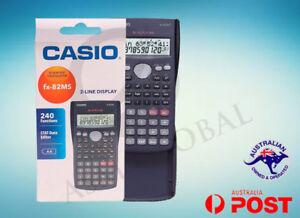 Casio-Scientific-Calculator-FX-82MS-FX-82-with-cover-user-Manual-NEW-Genuine