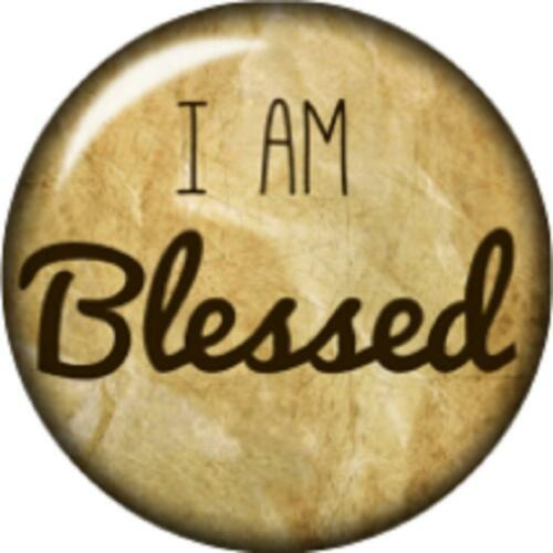 Snap button I am Blessed 18mm charm interchangeable