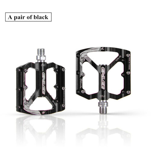 "Mountain Bike Pedals Aluminum Alloy MTB Sealed UD Bearing Pedals 9//16/"" MTB BMX"
