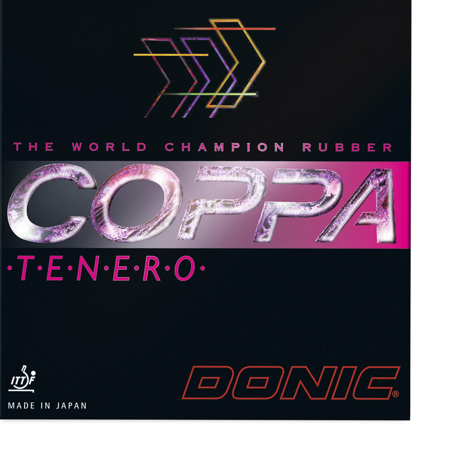 DONIC Coppa Teschwarz 1,5mm 1,5mm 1,5mm rot  NEU   OVP 043a4a