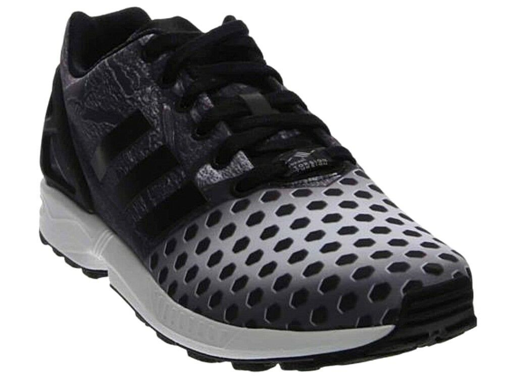 New Men's adidas ZX Flux Fashion Sneakers / black Shoes Sz 12 - black / 5d4f6b