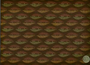 Crypton Momentum Jest Chocolate Brown Contemporary Leaf Upholstery