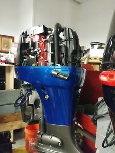 Details about Suzuki DF115 outboard complete restoration turn the key 25