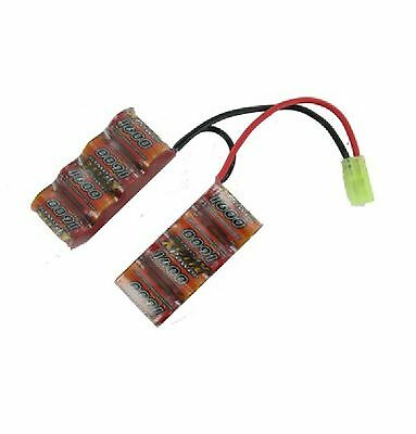 Compiacente Xcite Power 1600 - Batterie Double Stick 7.6v 1600 Mah *neuf*