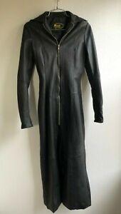 target leather matrix leather corset lace dress coat black