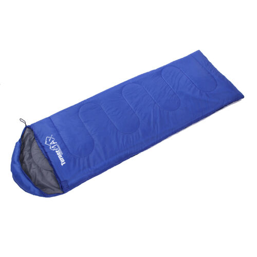 TurnerMAX Outdoor Sleeping Bag Single Adult 1 Person Hiking Camping Suit Case En