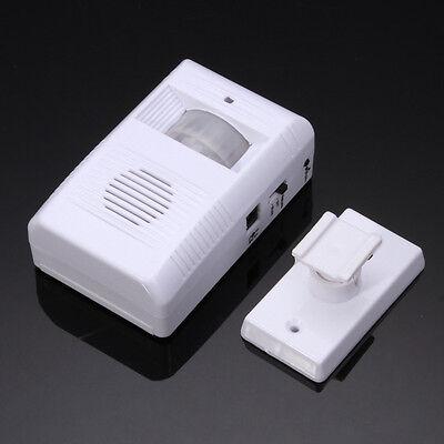 Shop Store Home Auto Welcome Device Door Ring Wireless IR Sensor Alarm  Doorbell 607983196166   eBay