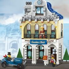 NEW OF Enlighten Building Bricks toys Zi Guang Yuan Hotel Villa /628 PCS