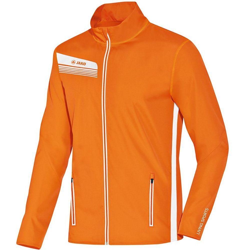 Jako correrening Fitness Giacca Athletico Tapis Giacca Uomo Arancione Bianco