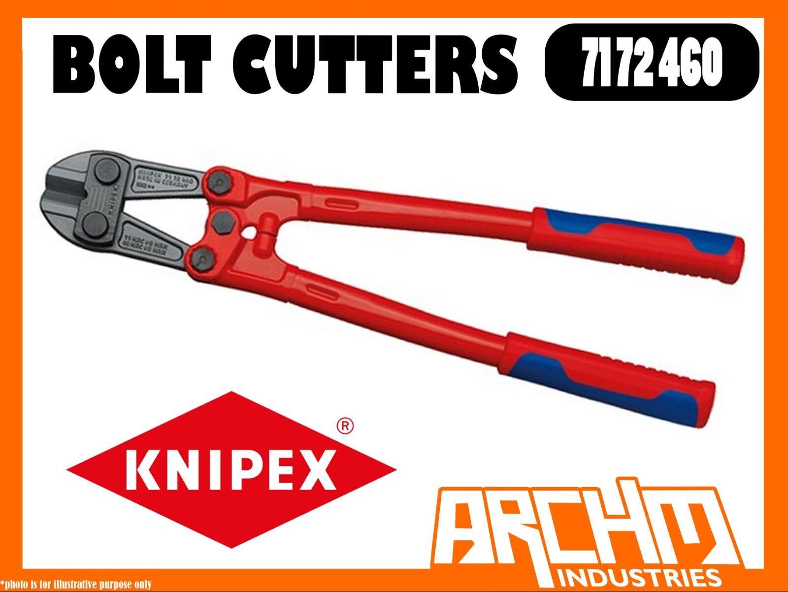 KNIPEX 7172460 - BOLT CUTTERS - 460MM - 48 HRC ROBUST CUTTING EDGES STEEL