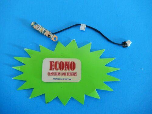 Toshiba Satellite E45 B4200 E45T-B4300 Power Button Board W// Cable 1414-097K000