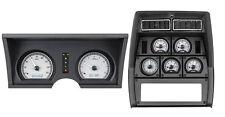 1978-82 Chevy Corvette Silver Alloy & White Dakota Digital VHX Analog Gauge Kit