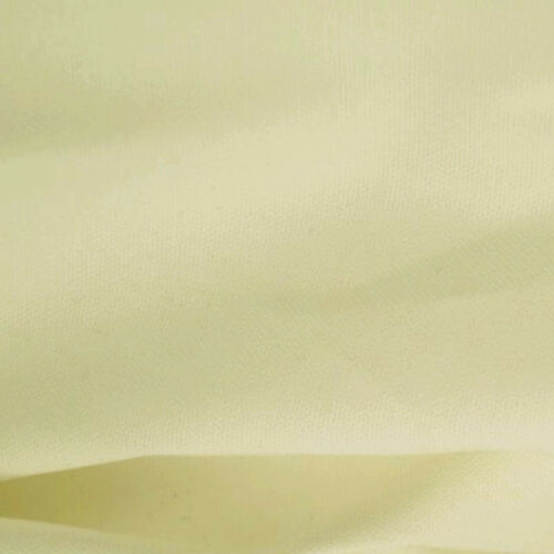 """wide Plain Solid Colours Material 100/% Cotton Canvas Fabric 57/"""" 146cm"""