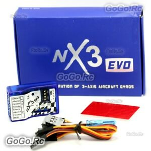 NX3-EVO-Fixed-Wing-3-Axis-Aircraft-Gyro-Balancer-Stabilization-Flight-Controller