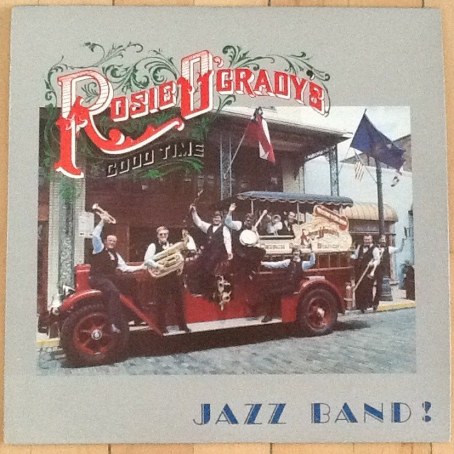 LP, Rosie O´Grady´s Good Time Jazz Band, Rosie O´Grady´s…