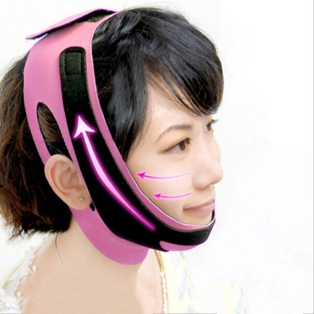 Charming Cheek Slim Lift Up Anti Wrinkle Mask Ultra-thin V Face Line Belt Strap