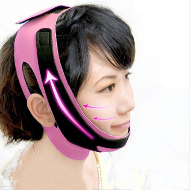 Charming Cheek Slim Lift Up Anti Wrinkle Mask Ultra-thin V Face Line Belt Str Kw