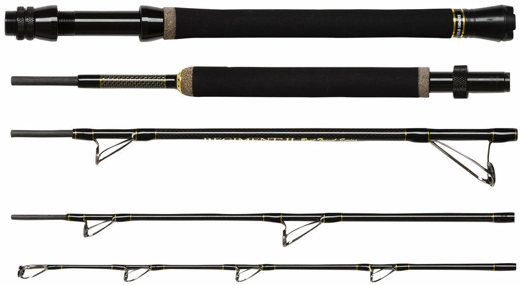 Penn Regiment II 215 Travel Boat, Travel Rod, Length 210cm, Boat Rod, Pilk Rod