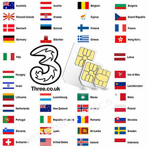 Details about 4G UK Sim Card perfect for Travel To Europe USA and more Nano  Micro 3 in 1 size