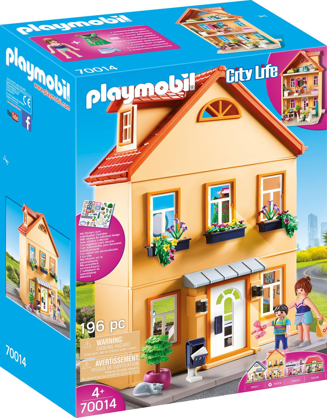 PLAYMOBIL® 70014 Mein Stadthaus - City Life - NEU +++ Versand mit DHL +++