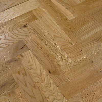 Direct flooring centre Classic Parquet Flooring, Solid Oak Hardwood 300x70x22 mm