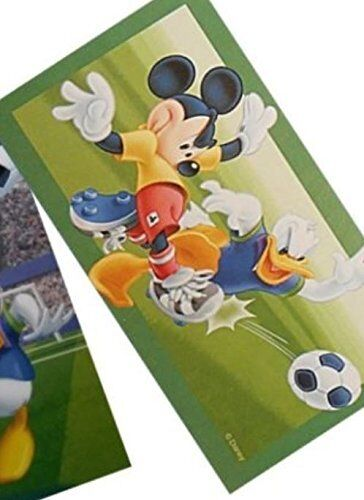 Disney Mickey Maus Donald Fußball Badetuch Strandtuch 76 x 152 cm NEU!!!