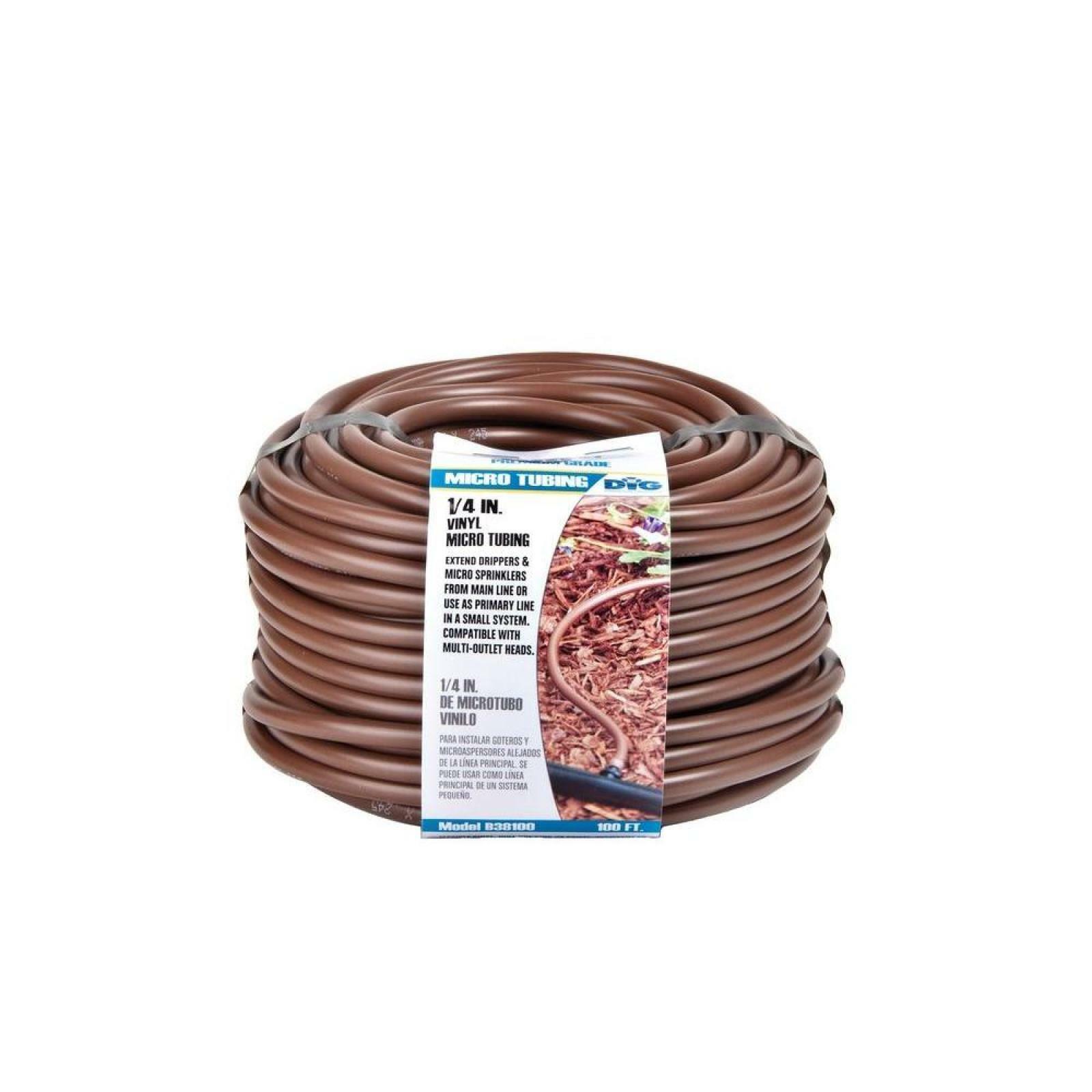 1/4 inch 100 feet Drip Micro Emitter Line Water Irrigation ...