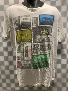 Cassette-Mix-Tape-Music-T-Shirt-Size-XL
