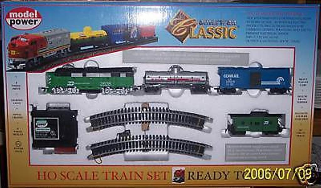 Ho Trenes B & n f-2a y F-2b ficticia Classic Train Set