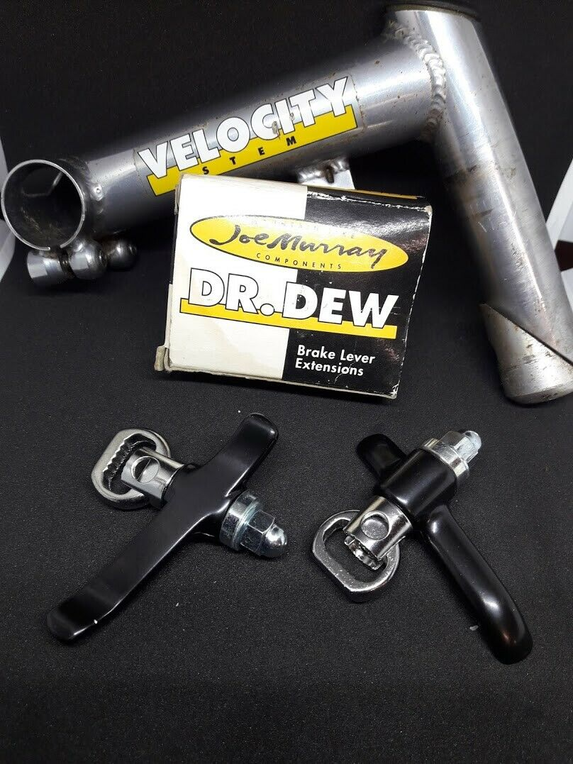 KONA Dr Dew retro rare bar end brake lever extensions BRAND NEW BOXED MTB part