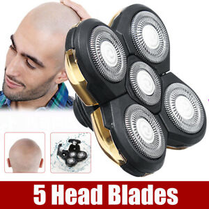 Replacement-Shaver-Razor-Head-Electric-5-Blades-Floating-Shaving-Bald-Trimmer