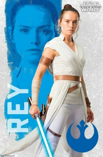 The Rise Of Skywalker Star Wars Rey Wall Poster