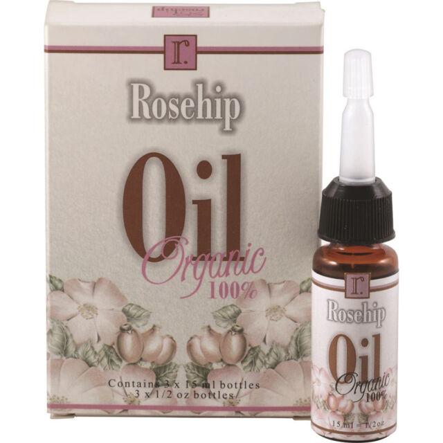 3 x 15ml Primal Nature Organic Rosehip Oil