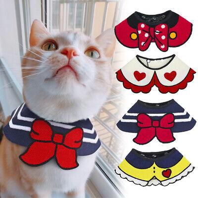 Dog Collar Bandana Cute Pet Dog Cat Neck Scarf Bandana Collar Neckerchief Adjustable Colors 2