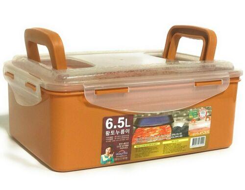 Wynmarket Korean HWANGTO Vacuum Airtight Kimchi Container BPA Free 6.5L