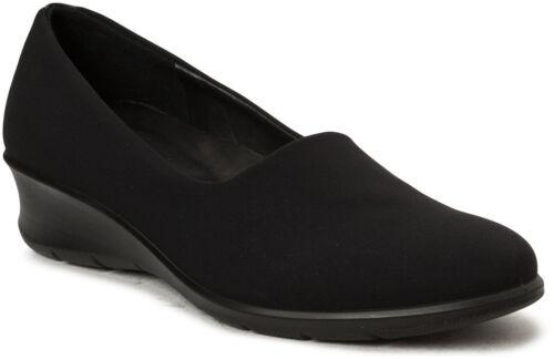 ECCO Femmes Felicia Marche Confortable Compensé Slip-On Shoe