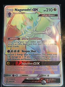 Naganadel-GX-secret-rare-rainbow-rare-249-236-mint-condition