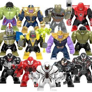 Avengers End Game Thanos SuperHero Hulk Big Minifigure Build