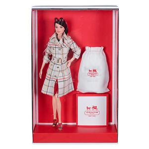 New-COACH-BARBIE-Doll-2013-Gold-Label-Limited-Edition-Classic-Duffle-Handbag