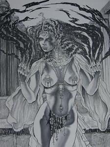 fantasy drawing Erotic