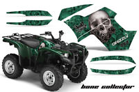 Yamaha Grizzly 550/700 Amr Racing Graphics Sticker Kit 07-13 Atv Decals Bones