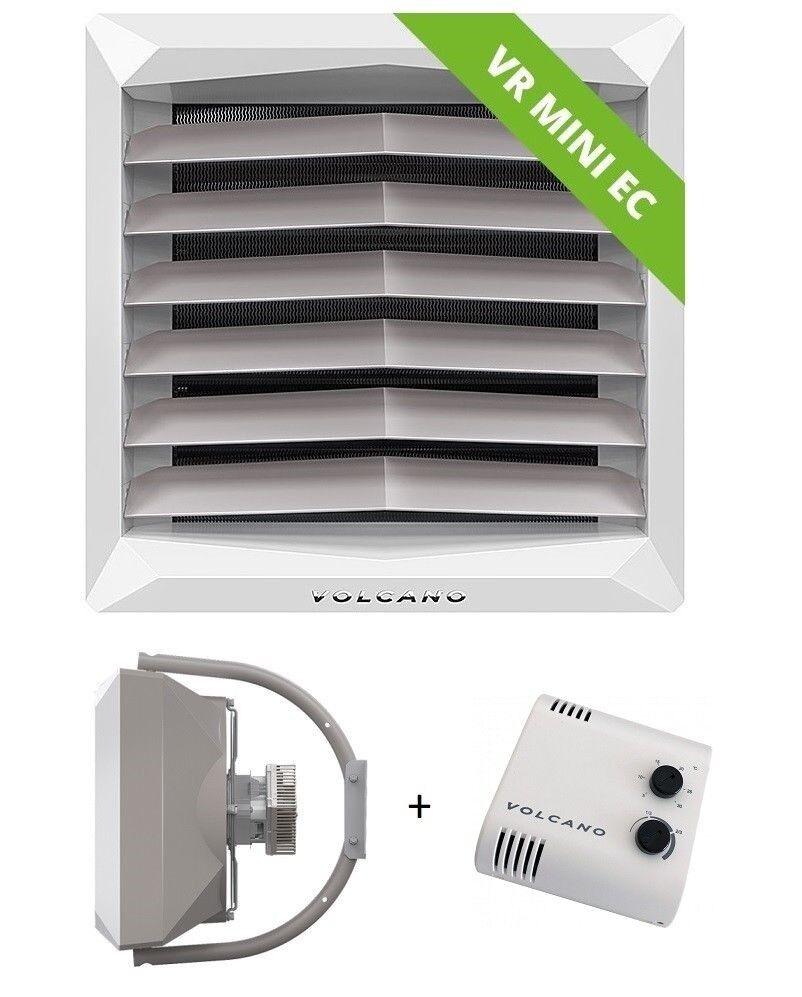 Lufterhitzer VOLCANO mini 3-20kW + Potentiometer mit Thermostat + Montagegriffe Montagegriffe Montagegriffe 47d6d0
