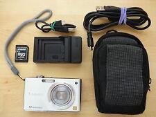 Panasonic Lumix DMC-FX48 - 12MP Compact Camera with 5x zoom - Silver