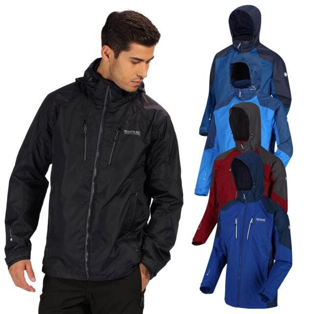 Regatta Men/'s Oklahoma II Waterproof Jacket Black