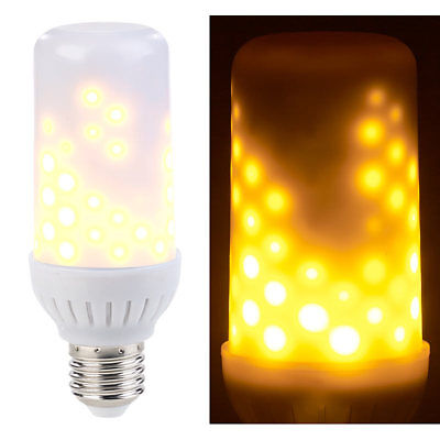 4W Flamme Licht E27 108LED Flackern Feuereffekt Brennen Lampe Xmas Party Lamps