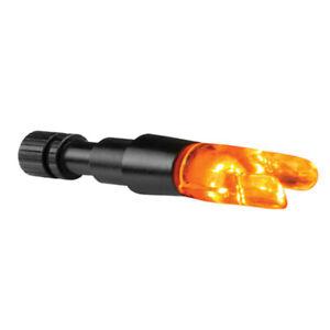 Cleanshot Contender Lighted Orange S Nock .244 ID Arrows 6pk Nockturnal Luminock