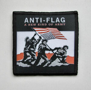 ANTI FLAG -- Patch / NOFX Billy Talent Rise Against Bad Religion Underoath